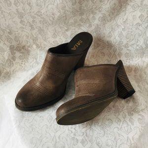 Mia Girl Western Heeled Clogs